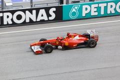 Fernando Alonso (squadra Ferrari) Fotografie Stock