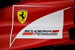 Fernando Alonso's car tail Royalty Free Stock Image
