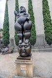 Fernando Botero Sculpture na plaza Botero, Medellin, Colômbia fotografia de stock