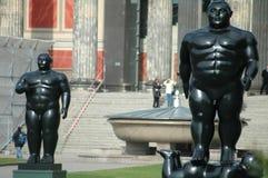 Fernando Botero sculptures Royalty Free Stock Image