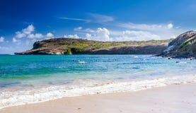 Fernando de Noronha ö i nordost av Brazi Royaltyfri Fotografi