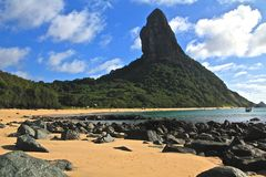 Fernando de Noronha, Brazil. Panoramic view on Fernando de Noronha Royalty Free Stock Photos