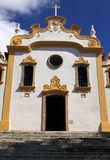 Fernando de Noronha colonial church Stock Photos