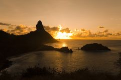 Fernando de Noronha - il Brasile Fotografie Stock