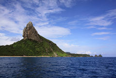 Fernando de Noronha panorama and Pico 2 Stock Photos