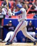 Fernando Tatis, Montreal Expos third baseman Stock Photography