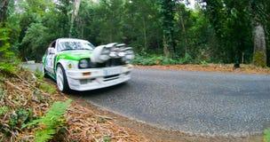 Fernando Teutonio en Rallye Centro de Portugal Imagen de archivo libre de regalías