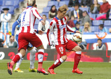 Fernando Torres of Atletico Madrid Royalty Free Stock Image