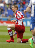 Fernando Torres of Atletico Madrid Stock Photo