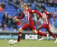Fernando Torres of Atletico Madrid Royalty Free Stock Image