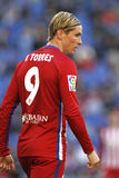 Fernando Torres of Atletico Madrid Royalty Free Stock Photo