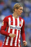 Fernando Torres of Atletico Madrid Royalty Free Stock Images