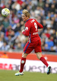 Fernando Torres of Atletico Madrid Royalty Free Stock Photos