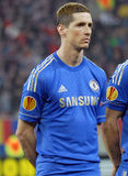 Fernando Torres of Chelsea London Royalty Free Stock Photo