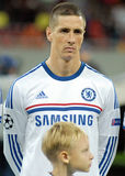 Fernando Torres of Chelsea Royalty Free Stock Photography