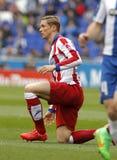 Fernando Torres di Atletico Madrid Fotografia Stock