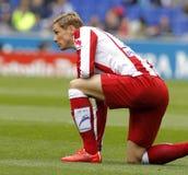 Fernando Torres van Atletico Madrid Royalty-vrije Stock Foto