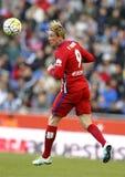 Fernando Torres van Atletico Madrid Royalty-vrije Stock Foto's