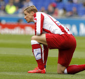 Fernando Torres von Atletico Madrid Lizenzfreies Stockfoto