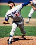 Fernando Valenzuela Los Angeles Dodgers Stockfotos