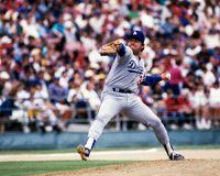 Fernando Valenzuela Los Angeles Dodgers. Former Dodgers pitcher Fernando Valenzuela. (Image taken from color slide Stock Image