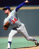 Fernando Valenzuela Los Angeles Dodgers. Former Dodgers pitcher Fernando Valenzuela. (Image taken from color slide Stock Images