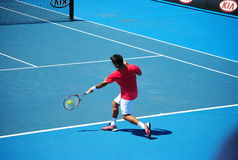 Fernando Verdasco powerful forehand Stock Photo