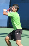 Fernando Verdasco, Tennis Forehand at US Open Stock Images