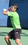 Fernando Verdasco, Tennis-Vorhand in US öffnen sich Stockbilder