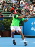 Fernando Verdasco winding up for a Forehand Royalty Free Stock Photo