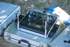 Fernbedienung für Hydroplanes Stockbild