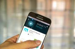 Fernbedienung Googles Android Lizenzfreies Stockbild