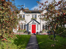 Ferndale house is a beautiful manor house near Dublin, Ireland. Ferndale house is a beautiful manor house near Dublin and the Wicklow mountains in Ireland Stock Photos