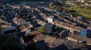 Ferndale, Rhondda Fotografia Stock