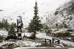 Ferner Garten en parc naturel de Kaunergrat près de vallée de Kaunertal au Tyrol, Autriche Photographie stock