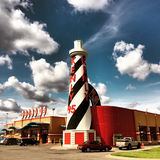 Fernfahrerrastplatz Kenly 95, Kenly, North Carolina Lizenzfreies Stockbild