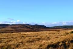 Fernhügel in den Hochländern von Schottland Lizenzfreie Stockfotos