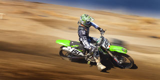 Fernley SandBox Dirt Bike Racer #151 Imagem de Stock
