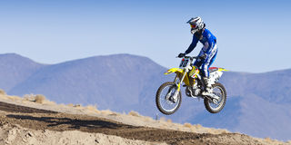 Fernley SandBox Dirt Bike Racer #30 Jumping Stock Images