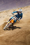 Fernley SandBox Dirt Bike Racer Royalty Free Stock Images