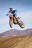 Fernley SandBox Dirt Bike Racer sautent Photos stock