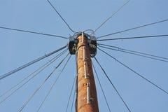 Fernschreiber Pole Lizenzfreies Stockfoto