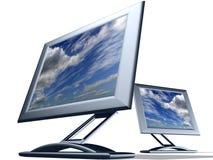 Fernsehüberwachungsgerät stockfotografie
