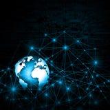 Fernseh- und Internet-Fertigungstechnikkonzept Lizenzfreie Stockfotografie