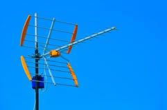 Fernsehantenne Lizenzfreies Stockbild