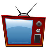 Fernsehapparat Stockbild