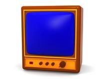 Fernsehapparat. Lizenzfreie Stockfotos