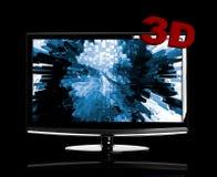 Fernsehapparat 3D Stockfotos