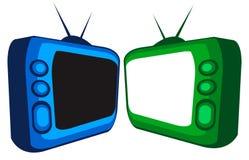 Fernsehapparat Lizenzfreies Stockfoto