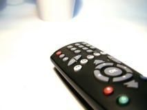 Fernsehapparat Fernsteuerungs Lizenzfreie Stockfotos